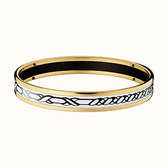 에르메스 뱅글 Hermes Tressages dApparat Croisillons bangle - 부루 구매대행