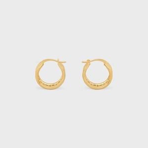 Celine Maillon Triomphe Muliti Hoops in Brass with Gold Finish - 부루 구매대행